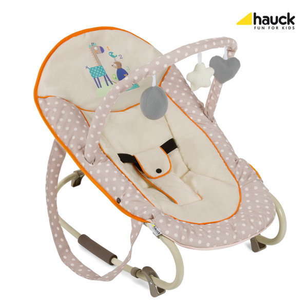 Hauck Шезлонг Bungee Deluxe Animals 635025